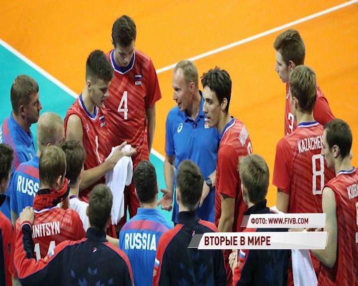 Связующий «Ярославича» стал серебряным призером Чемпионата мира
