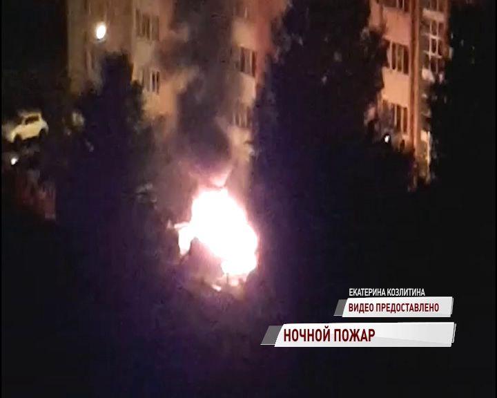 Парковочные войны продолжаются: в Брагине вновь сгорела машина