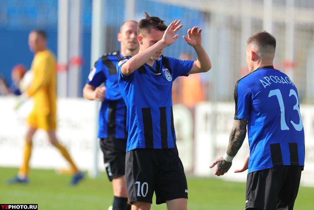 «Шинник» одолел «Томь» на родном стадионе