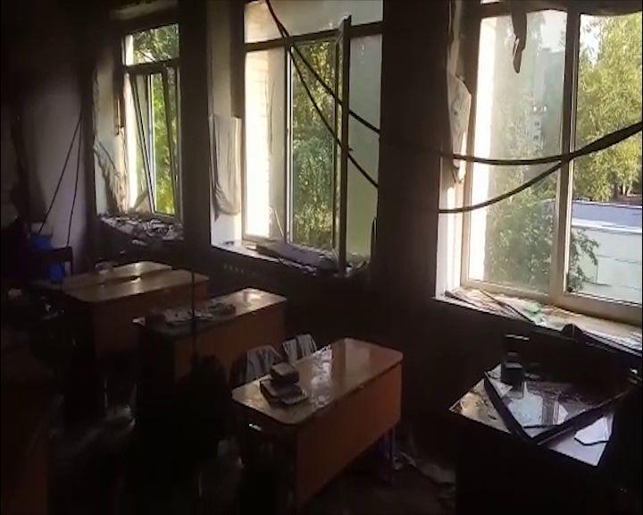 Пострадавшей от пожара брагинской школе окажут помощь