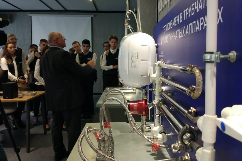 Дмитрий Миронов принял участие в открытии нового образовательного центра технологических процессов на базе ЯГТУ