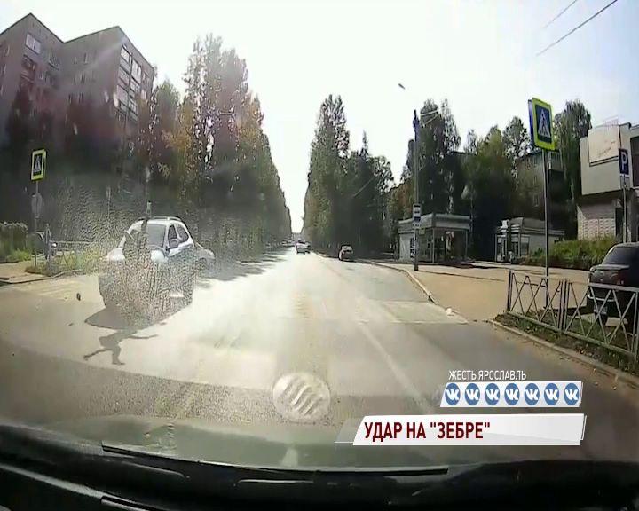 В Брагине «Лексус» снес подростка на пешеходном переходе