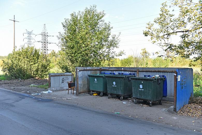 На Автозаводской улице ликвидировали незаконную свалку промышленных отходов