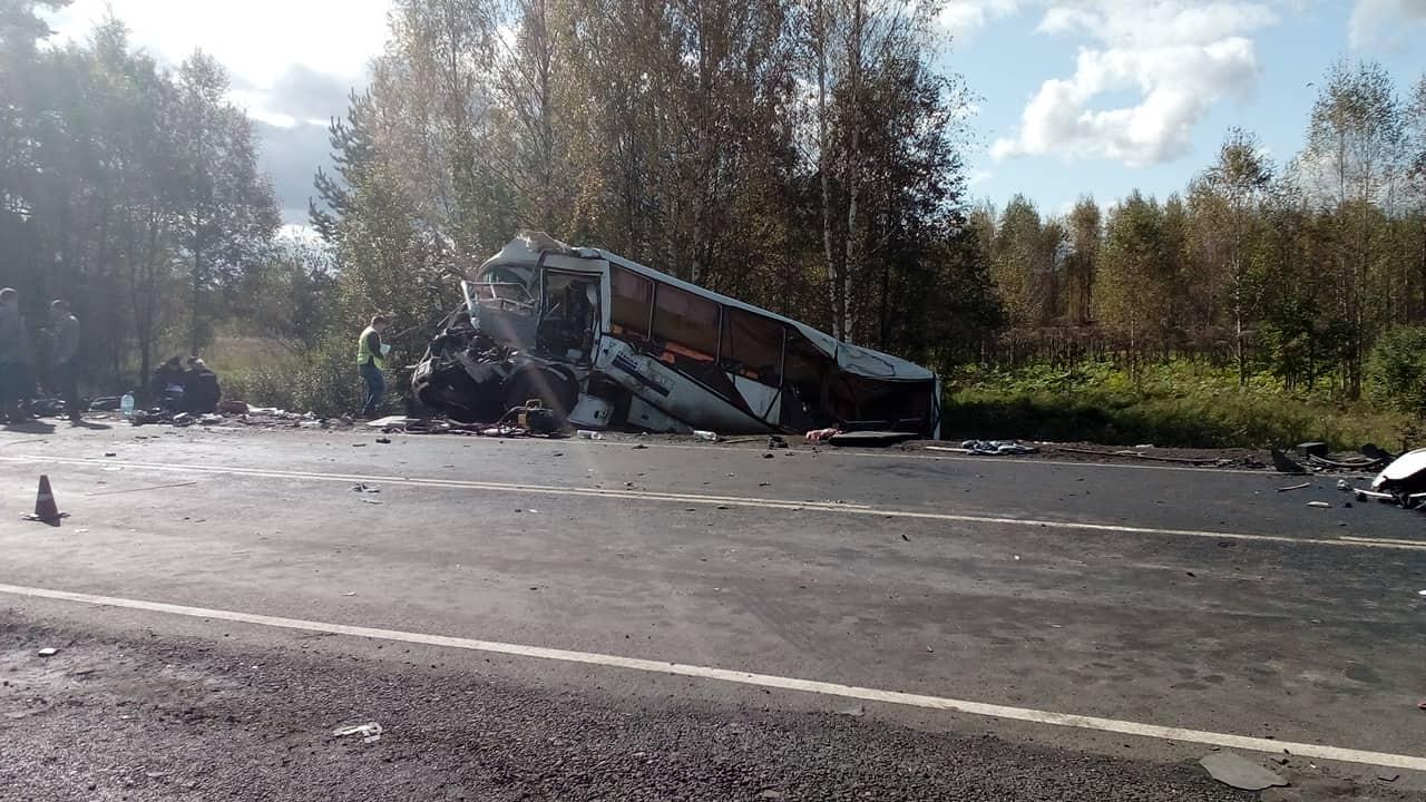 Установлены первые личности погибших в ДТП под Гаврилов-Ямом