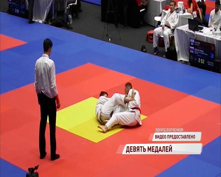 Ярославские спортсмены успешно выступили на Кубке мира по джиу-джитсу