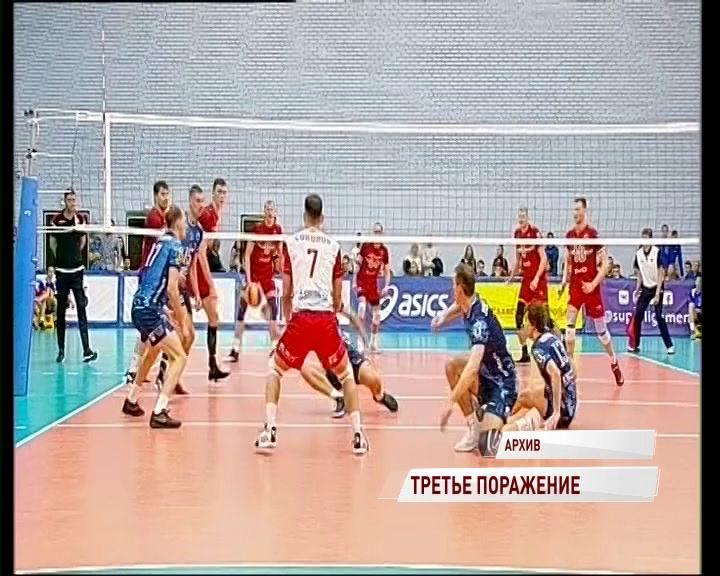 «Ярославич» проиграл новосибирскому «Локомотиву»