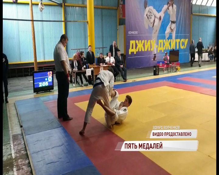 Ярославские спортсмены взяли пять медалей на турнире по джиу-джитсу