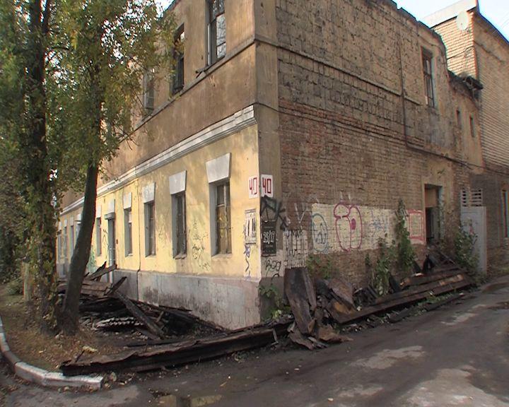 В Ярославле почти дотла выгорел дом на Свердлова