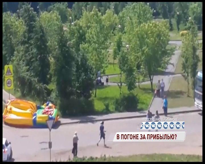 В Рыбинске за грубое нарушение требований безопасности будут судить хозяйку батута