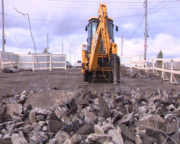 Долгожданный ремонт Добрынинского путепровода вошел в активную стадию