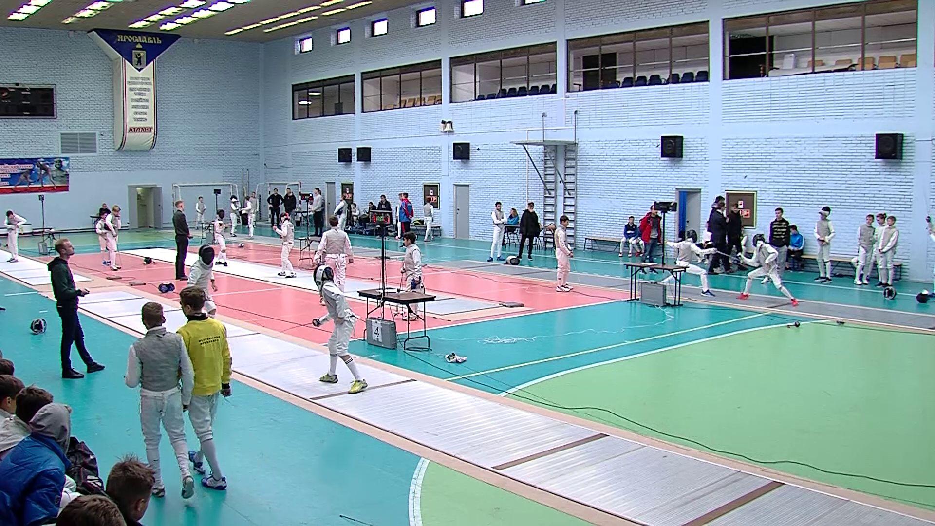В Ярославле стартовал всероссийский турнир по фехтованию памяти Бородина