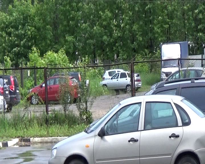 В Заволжском районе задержали угонщика