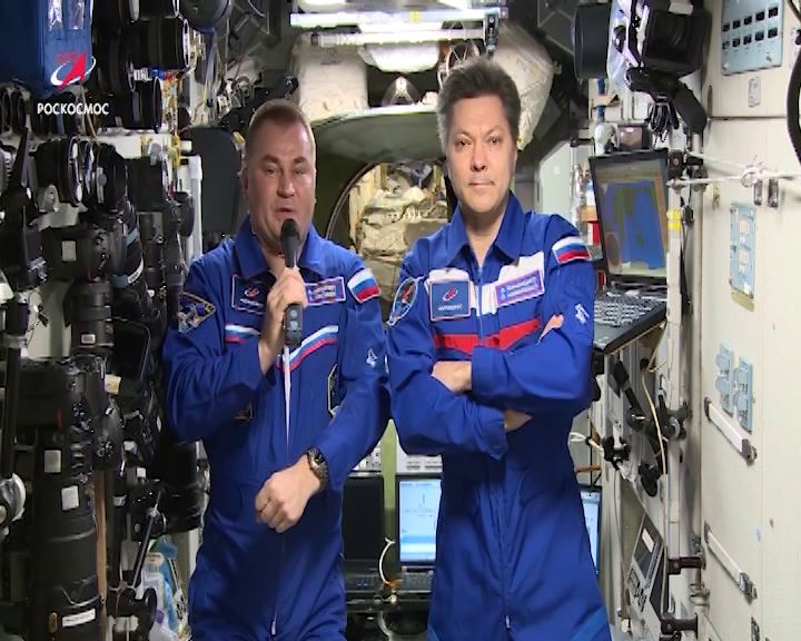 Алексей Овчинин возвращается с МКС на Землю