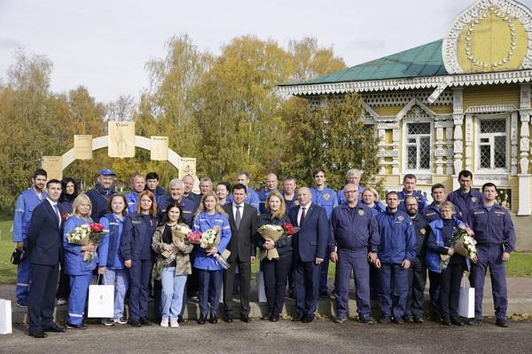 Дмитрий Миронов поблагодарил специалистов ФМБА за работу в Ярославской области