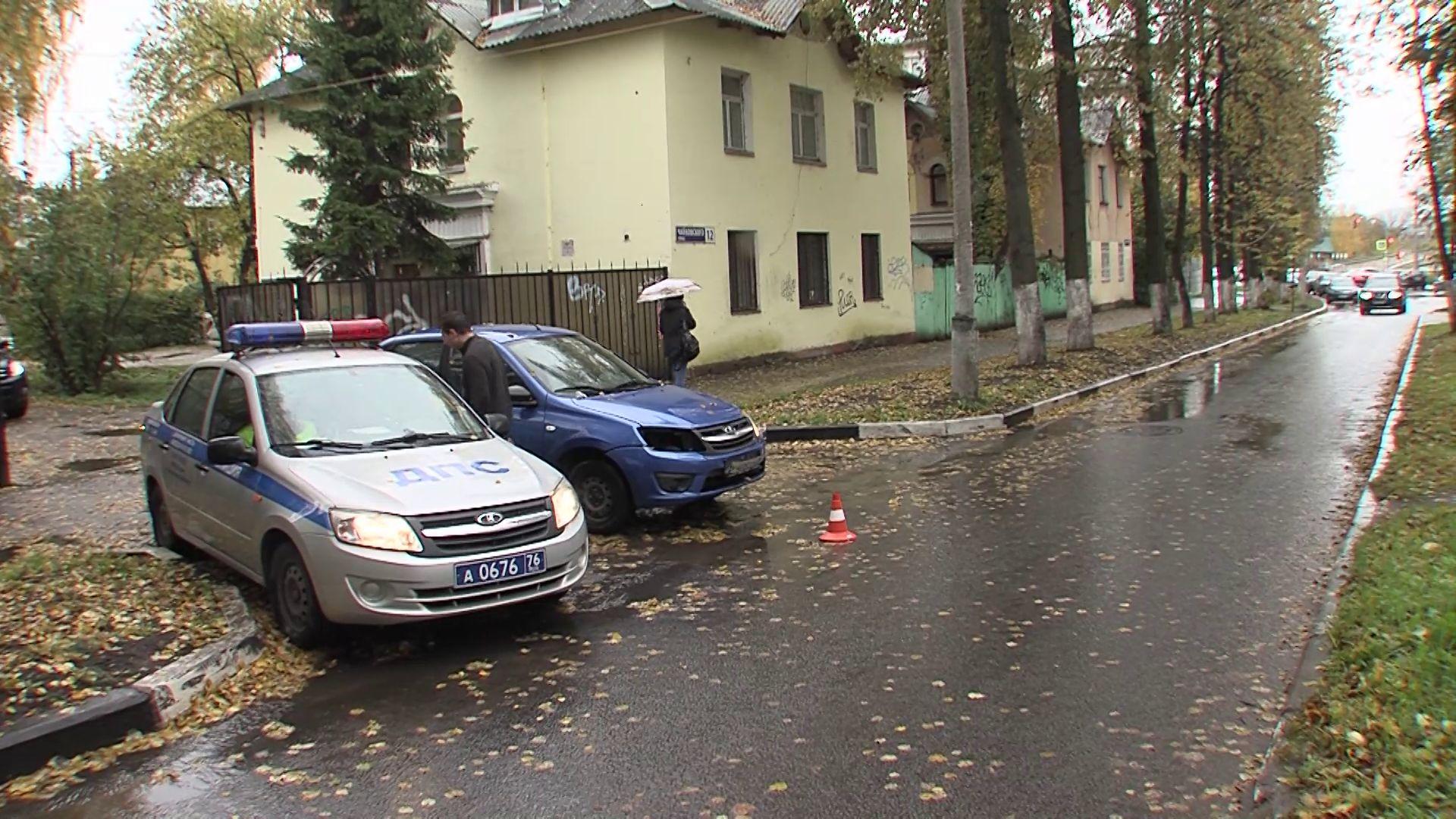 В Ярославле школьника сбил учебный автомобиль