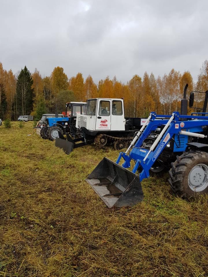 Новая техника для леса поступила в Ярославскую область