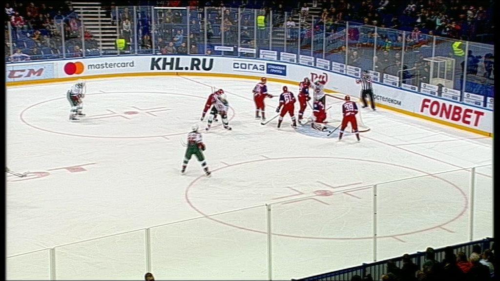 «Локомотив» впервые в сезоне ушел с площадки без заброшенных шайб