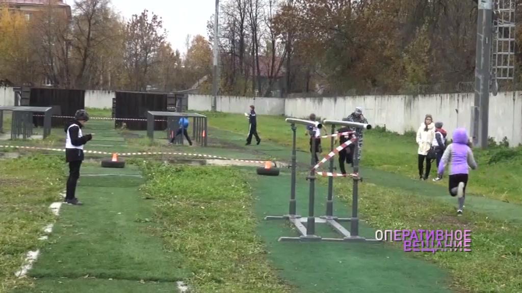 На базе ярославского ОМОНа прошли военно-спортивные игры