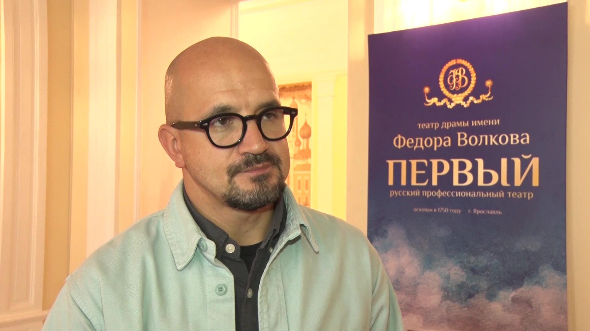 Егор Дружинин привез в Ярославль «Еврейское счастье»