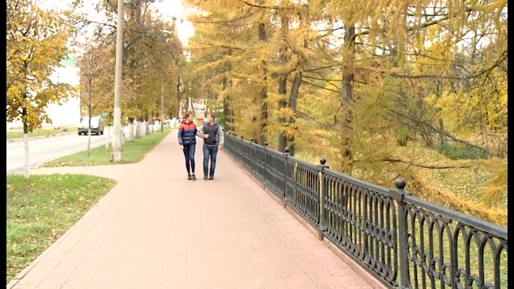 Которосльная набережная в Ярославле отмечает 75-летний юбилей