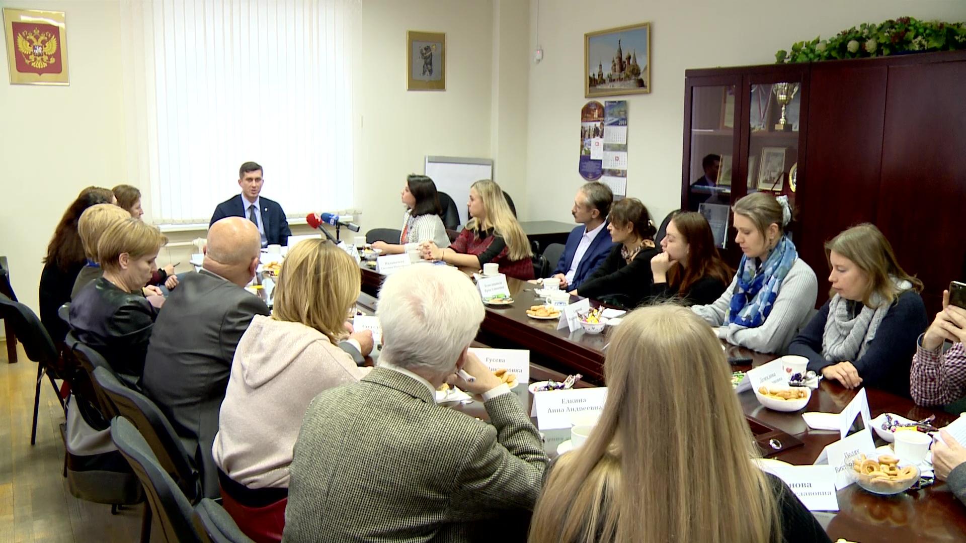 Председатель муниципалитета Ярославля провел встречу с представителями областных СМИ