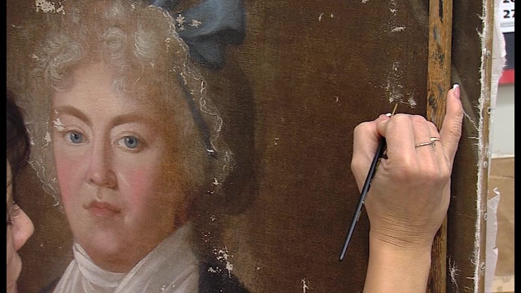 Реставраторы раскрыли школьникам тайны великих художников