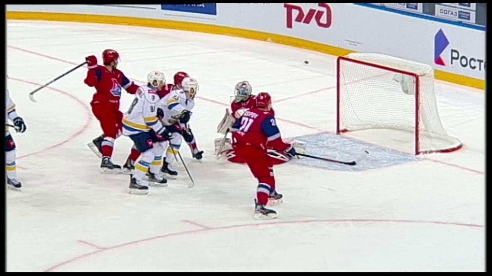 «Локомотив» обыграл «Сочи» в домашнем матче чемпионата КХЛ