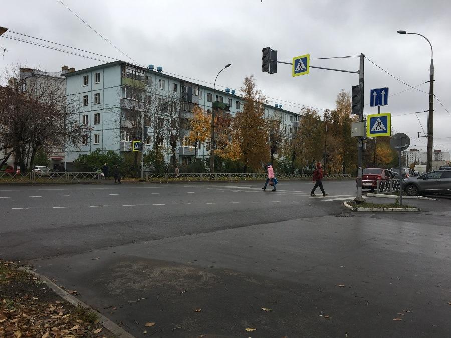 В Рыбинске на улице 9 Мая поставили дополнительные светофоры