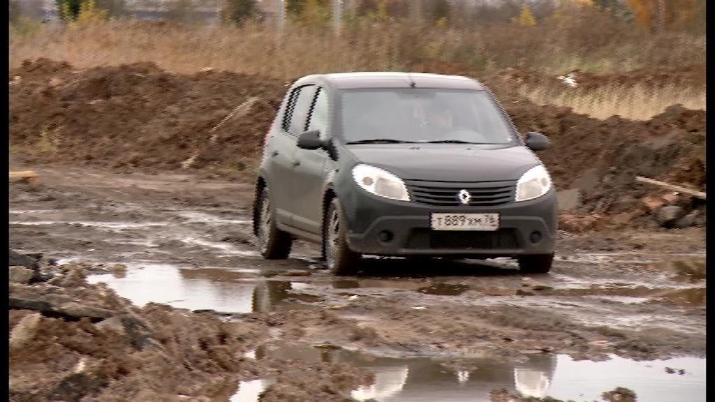 Как на сельском погосте: в Ярославле опять размыло дорогу к Осташинскому кладбищу