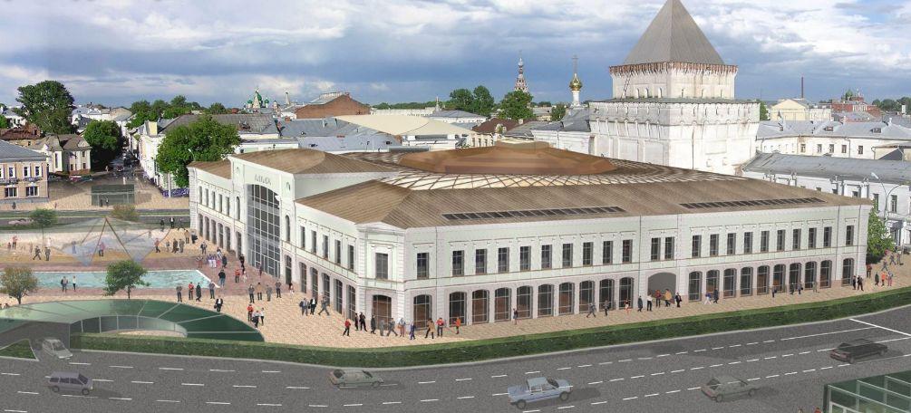 Ярославцам показали, как могла измениться площадь Волкова