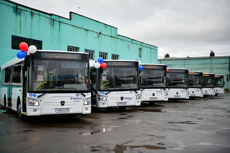 В Ярославль прибыла партия из новых автобусов