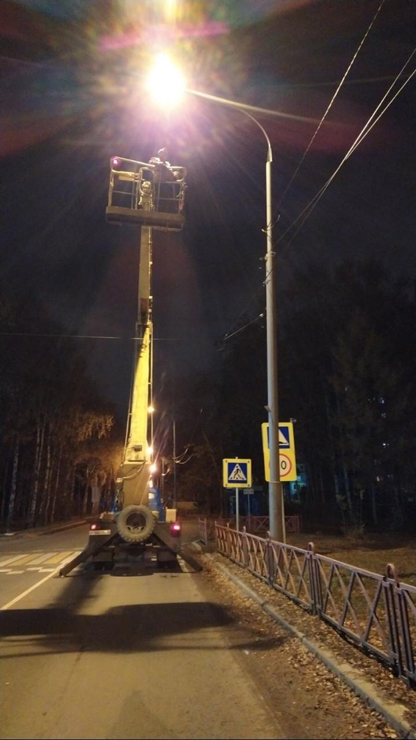 Мэрия Ярославля после жалобы в соцсетях восстановила освещение на «зебре»