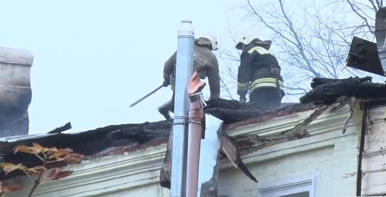 Причиной пожара в Ростове стал поджог