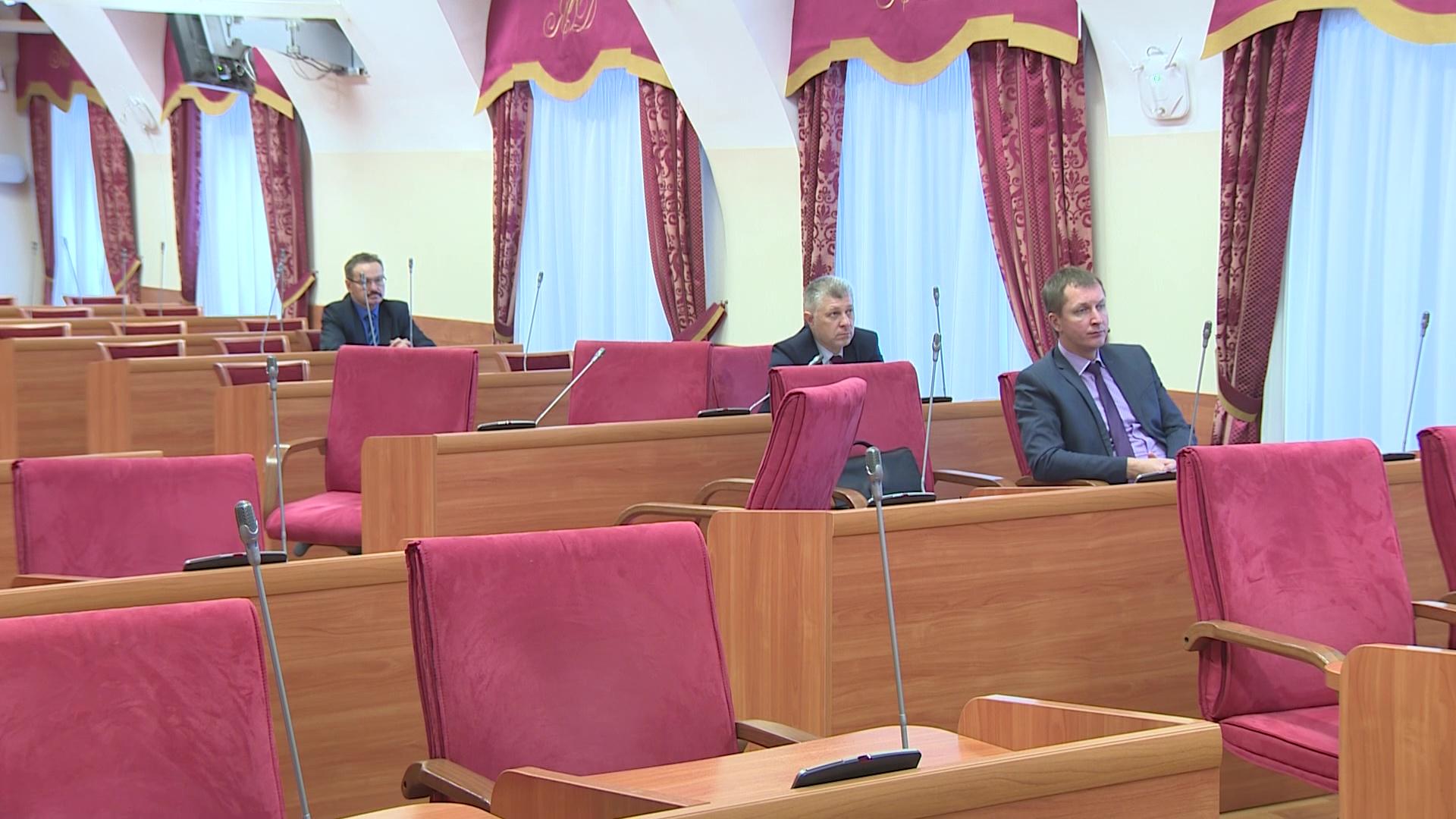 В облдуме обсудили поправки в закон об инвестициях для предпринимателей