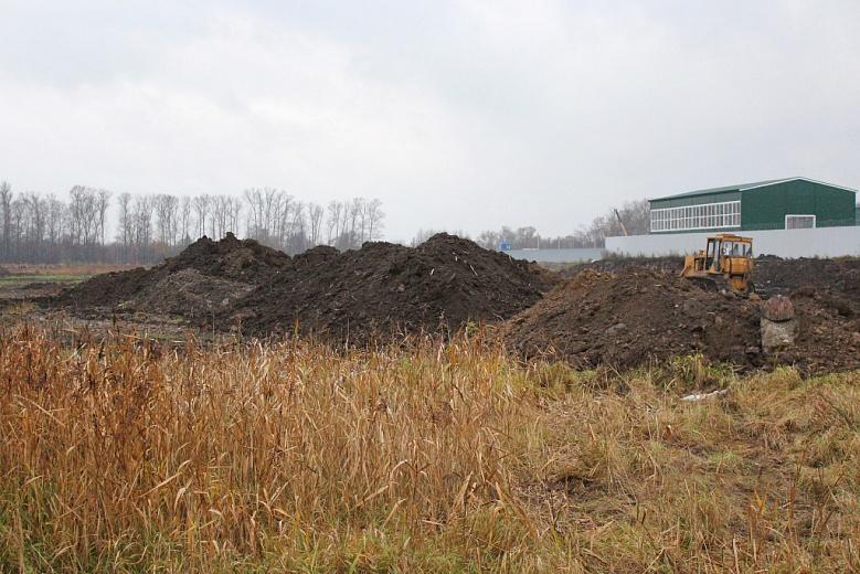 В Ярославле продолжается строительство нового кладбища