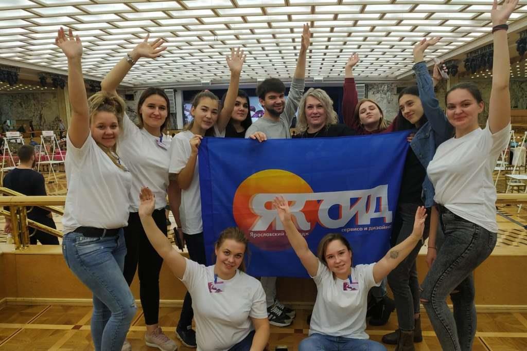 Студентки из Ярославля стали победительницами чемпионата парикмахеров и косметологов