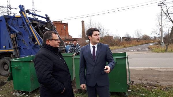 Комиссия проверила работу по сбору и вывозу мусора в Ростове