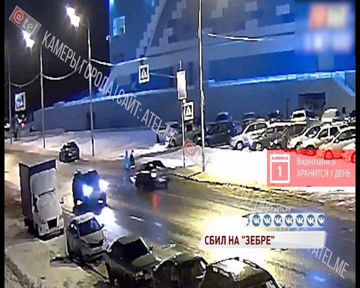 В Рыбинске водитель сбил пешеходов прямо на «зебре»