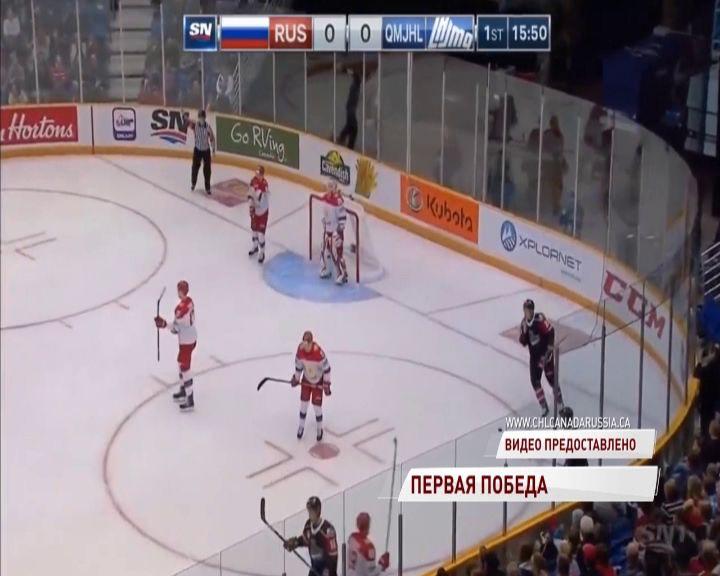 Голкипер «Локомотива» помог молодежной сборной России стартовать с победы в Суперсерии