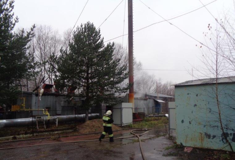 Из-за пожара в Рыбинске установят модульную котельную