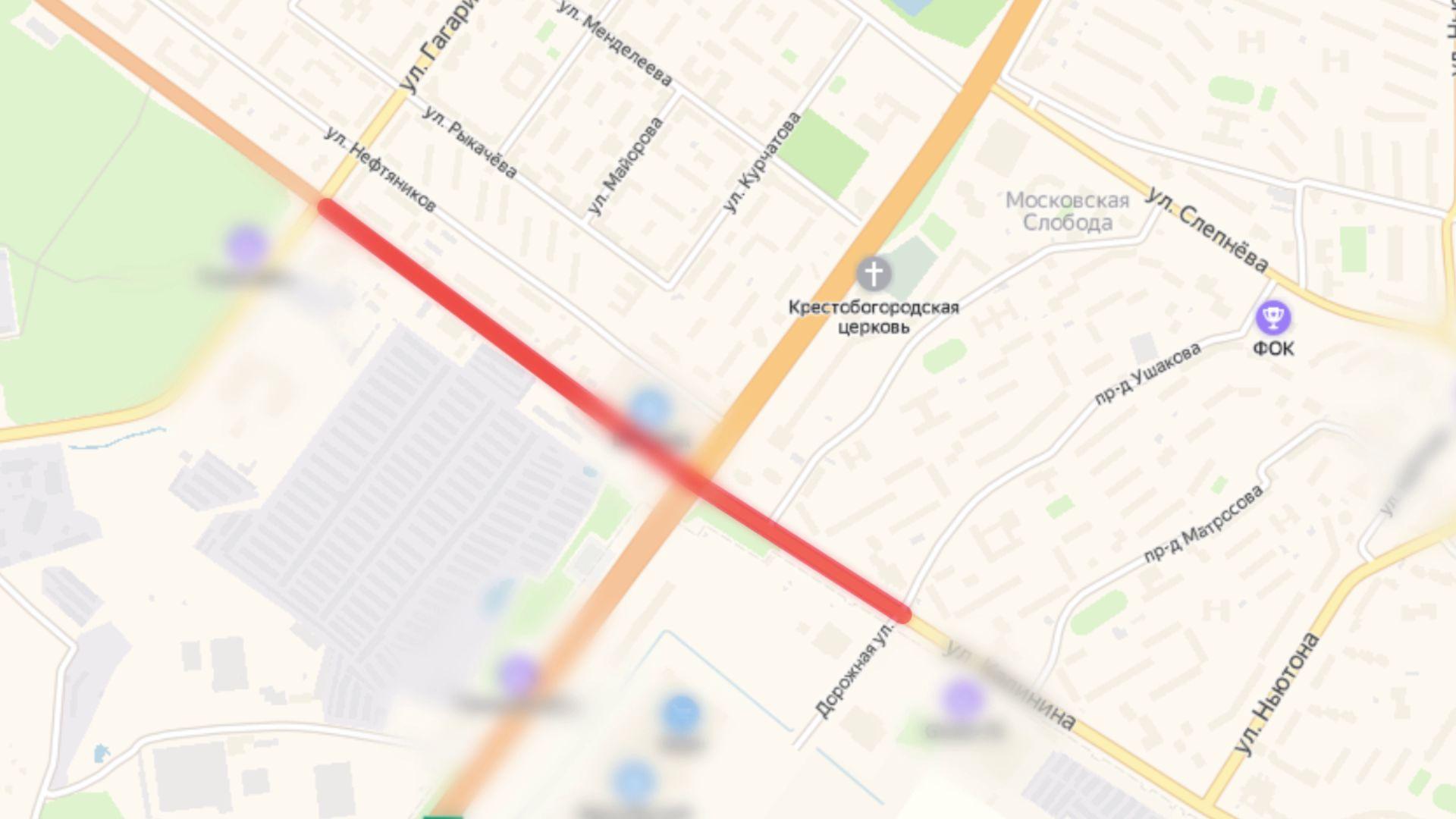 В Ярославле на Юго-Западной окружной дороге ограничат движение