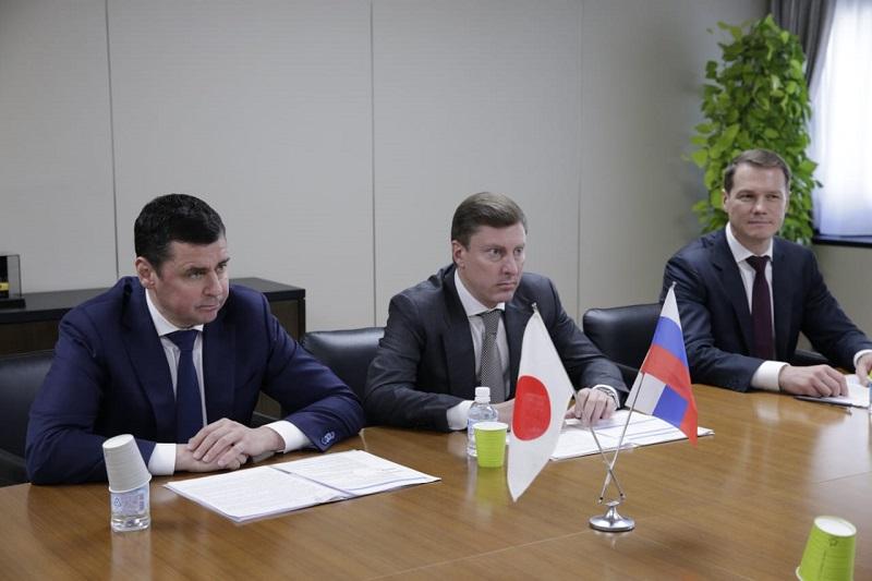 Дмитрий Миронов встретился с председателем правления компании «Komatsu» Туцудзи Охаси