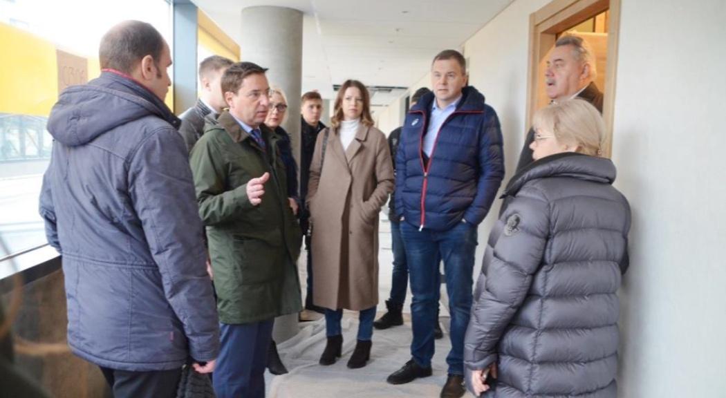 Комиссия оценила готовность Ярославля к проведению волейбольной «Лиги наций»