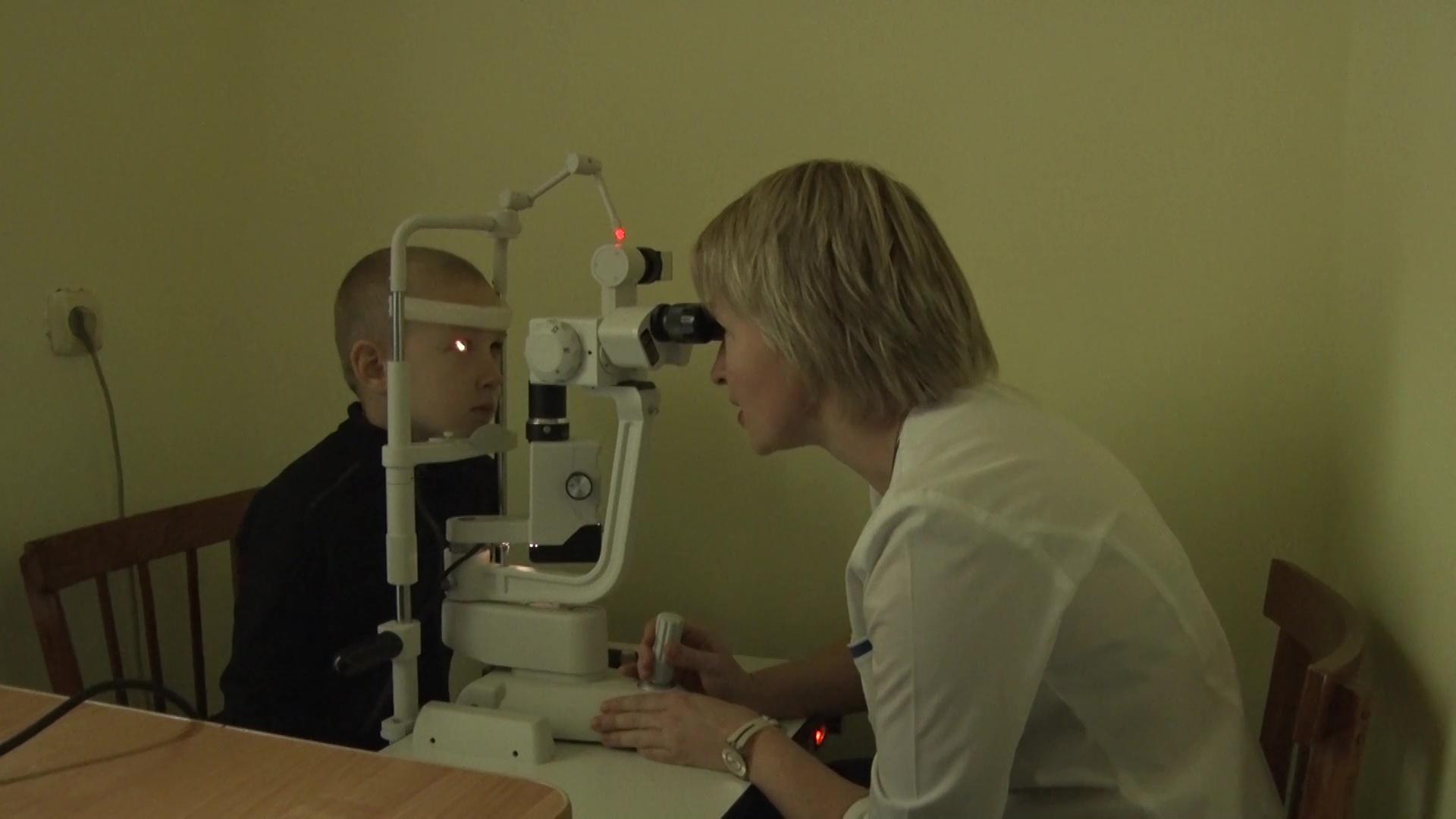 В третью детскую поликлинику закупили офтальмологическое оборудование