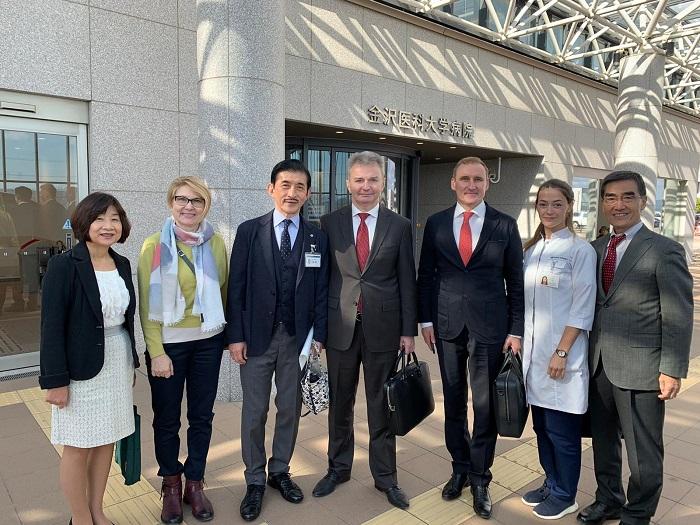 Дмитрий Миронов: «Ярославские медики давно сотрудничают с японскими коллегами»