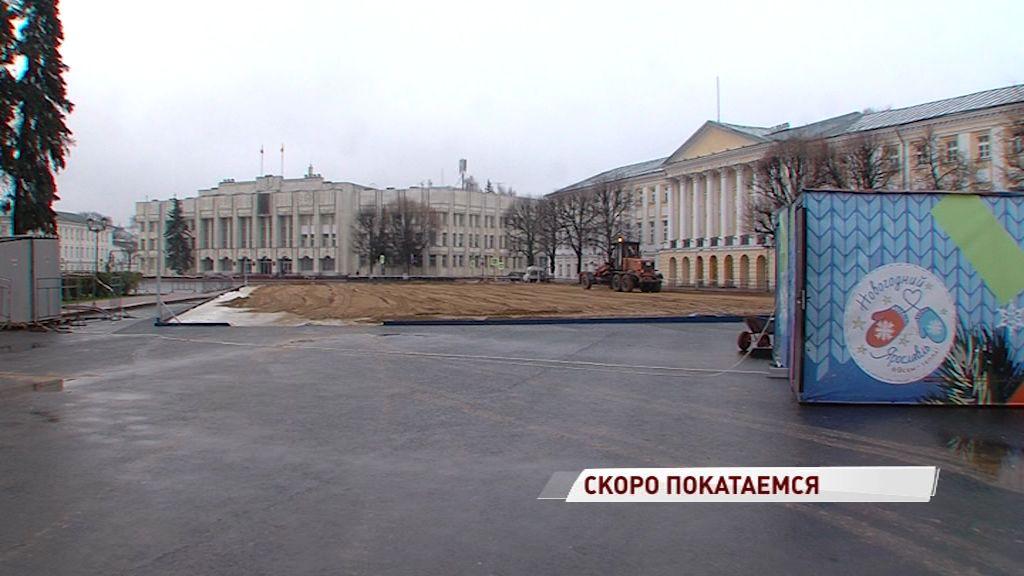 Стало известно, когда заработает каток на Советской площади