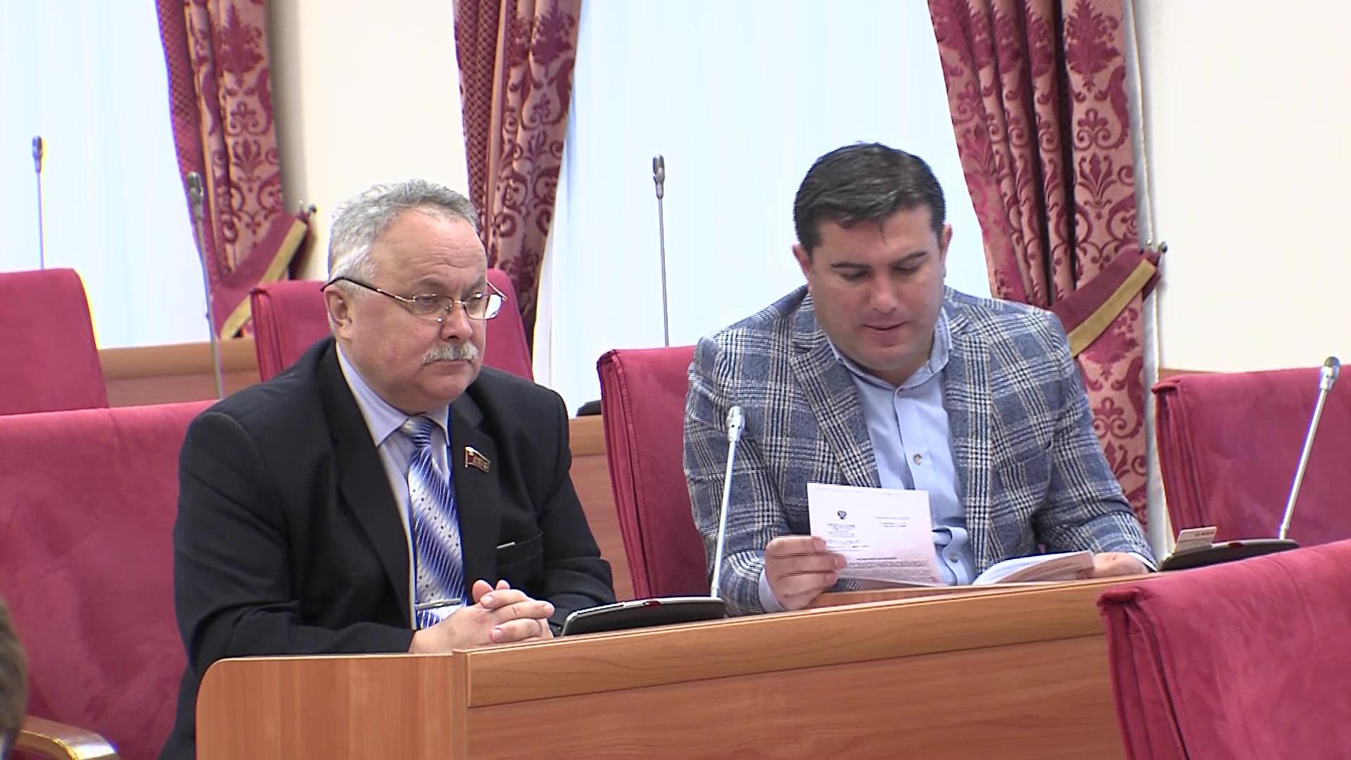 В областной думе рассмотрели проект бюджета региона на 2020-й год