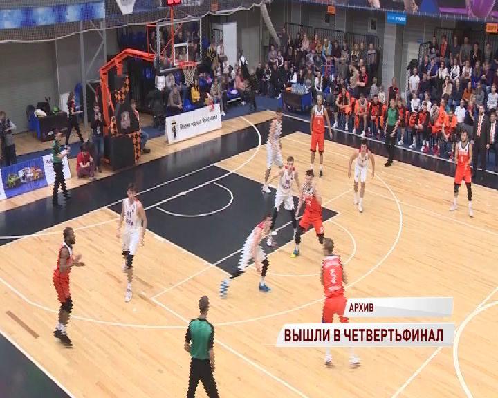 «Буревестник» впервые в истории вышел в 1/4 финала Кубка России