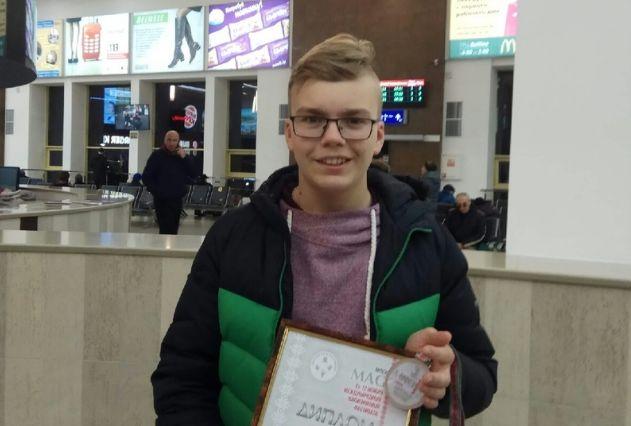 Ярославец стал призером на Международном иллюзионном фестивале в Минске