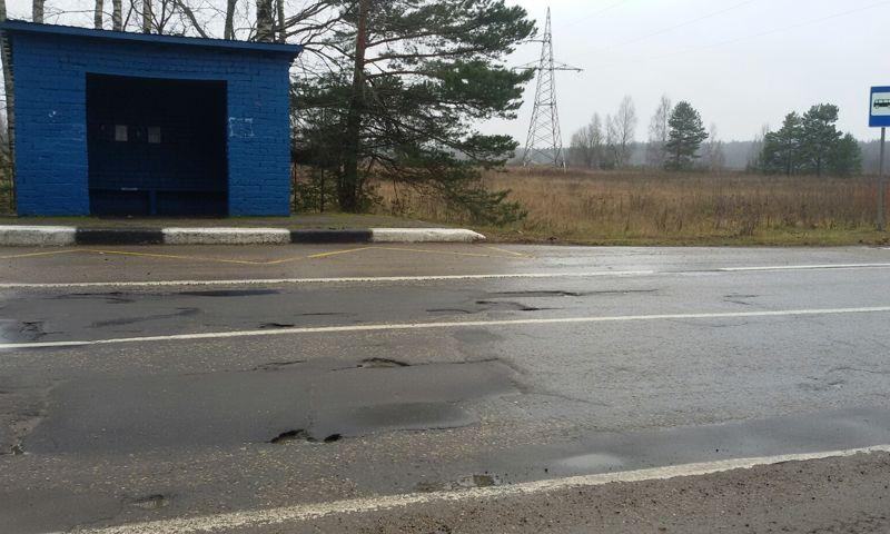 После поста в соцсетях заделали ямы на трассе в Ярославской области